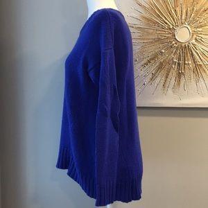 J. Crew Sweaters - JCrew blue oversized supersoft tunic sweater